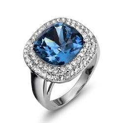 Prsten s krystaly Swarovski Oliver Weber Autentic 2468-266