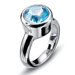Prsten s krystaly Swarovski Oliver Weber Point 2472-202