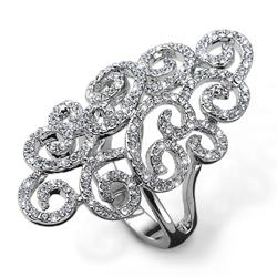 Prsten s krystaly Swarovski Oliver Weber Fancy
