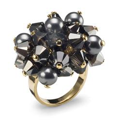 Prsten s krystaly Swarovski Oliver Weber Excite