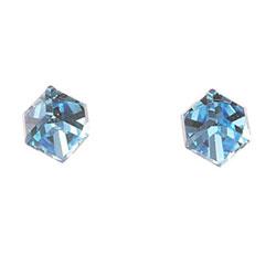 Náušnice s krystaly Swarovski Oliver Weber Cubo 21015-202