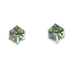 Náušnice s krystaly Swarovski Oliver Weber Cubo 21015-214