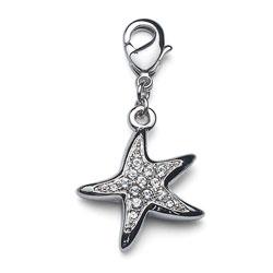 Pøívìsek s krystaly Swarovski Oliver Weber Starfish 6715