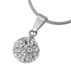 Stříbrný přívěsek s krystaly Swarovski Oliver Weber Ball 61007-001