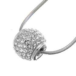 Stříbrný přívěsek s krystaly Swarovski Oliver Weber Ball 61016-001