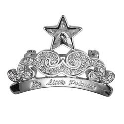 Ozdobná brož s krystaly Swarovski Oliver Weber Princess 8375