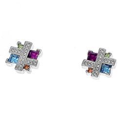 Náušnice s krystaly Swarovski Oliver Weber Couture 22077