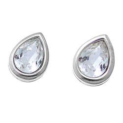 Náušnice s krystaly Swarovski Oliver Weber Tear 22094-001