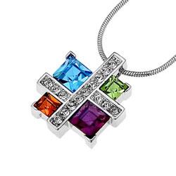 Pøívìsek s krystaly Swarovski Oliver Weber Couture 11032