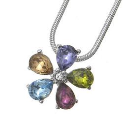 Přívěsek s krystaly Swarovski Oliver Weber Florita 11110