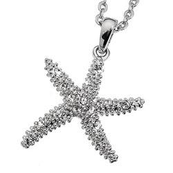 Přívěsek s krystaly Swarovski Oliver Weber Starfish 11137