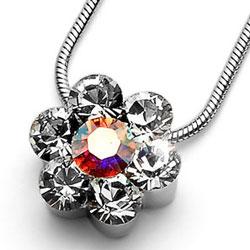 Přívěsek s krystaly Swarovski Oliver Weber Flower 11197-001