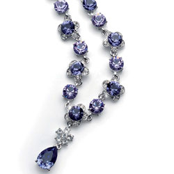 Náhrdelník s krystaly Swarovski Oliver Weber Prestige 11200