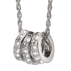 Přívěsek s krystaly Swarovski Oliver Weber Infinity 11233-001