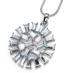 Pøívìsek s krystaly Swarovski Oliver Weber Garland 9186