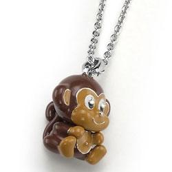 Pøívìsek s krystaly Swarovski Oliver Weber Monkey 9247