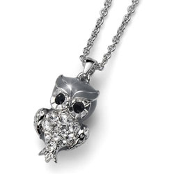 Přívěsek s krystaly Swarovski Oliver Weber Owl 9248