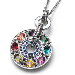 Pøívìsek s krystaly Swarovski Oliver Weber Rainbow Multi