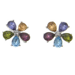 Náušnice s krystaly Swarovski Oliver Weber Florita 22132
