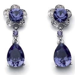 Náušnice s krystaly Swarovski Oliver Weber Prestige 9770