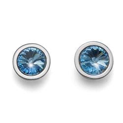 Náušnice s krystaly Swarovski Oliver Weber Follow 22265-202
