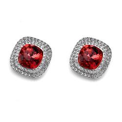 Náušnice s krystaly Swarovski Oliver Weber Autentic 22301-208