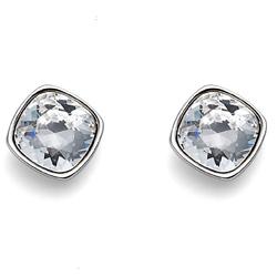 Náušnice s krystaly Swarovski Oliver Weber Enjoy Crystal