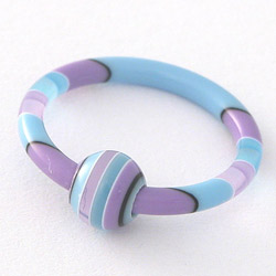 Piercing VRR10blue Tribal