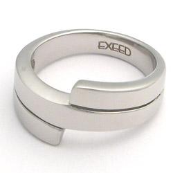Prsten z chirurgické oceli lesklý 232454a Exeed