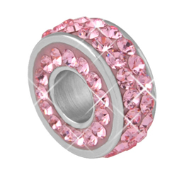 Přívěsek s krystaly Swarovski PSSW05-ROSE