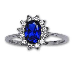 Prsten stříbrný R0247 SPINELY