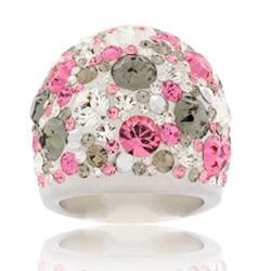 Prsten s krystaly Swarovski Romantic Diamond Cosmos Exkluzive