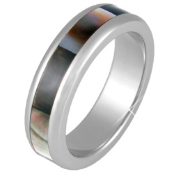 Prsten z chirurgické oceli RSSH03dark