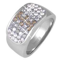 Prsten s krystaly Swarovski RSSW11-CZ