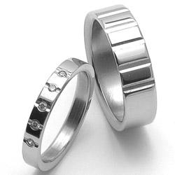 Obrázek č. 1 k produktu: Dámský ocelový snubní prsten RZ04009