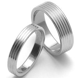 Obrázek č. 1 k produktu: Dámský ocelový snubní prsten RZ04800