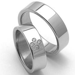 Obrázek č. 1 k produktu: Dámský ocelový snubní prsten RZ06054