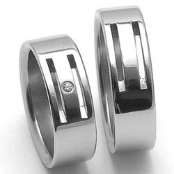 Obrázek č. 1 k produktu: Dámský ocelový snubní prsten RZ06104