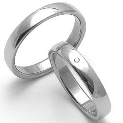 Obrázek č. 1 k produktu: Dámský ocelový snubní prsten RZ14001