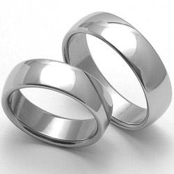Obrázek č. 1 k produktu: Ocelový snubní prsten RZ16000