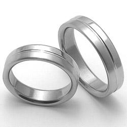 Obrázek č. 1 k produktu: Ocelový snubní prsten RZ85118