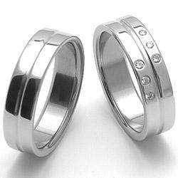 Obrázek č. 1 k produktu: Dámský ocelový snubní prsten RZ06118