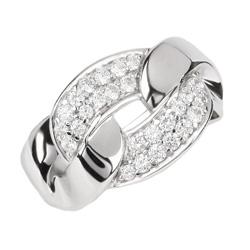 Elegantní stříbrný prsten Altesse