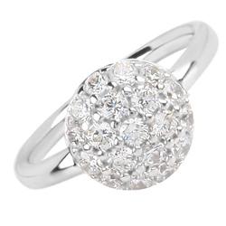 Støíbrný prsten Présence S10-678