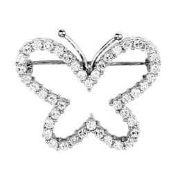 ozdobná brož - motýl Altesse