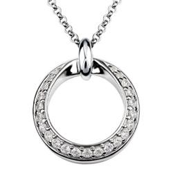 Støíbrný náhrdelník Présence S10-922-45