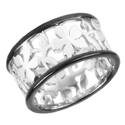 Støíbrný prsten Présence S11-292