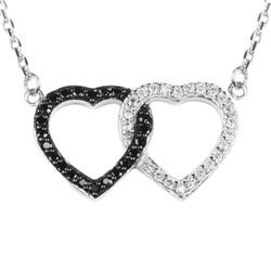 stříbrný náhrdelník se  zirkony  Altesse