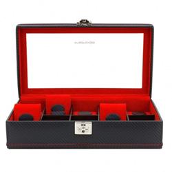 Obrázek č. 1 k produktu: Kazeta na hodinky Friedrich Lederwaren Carbon 32048-2