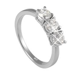 Støíbrný prsten Chiara Circle SAEU0-R1